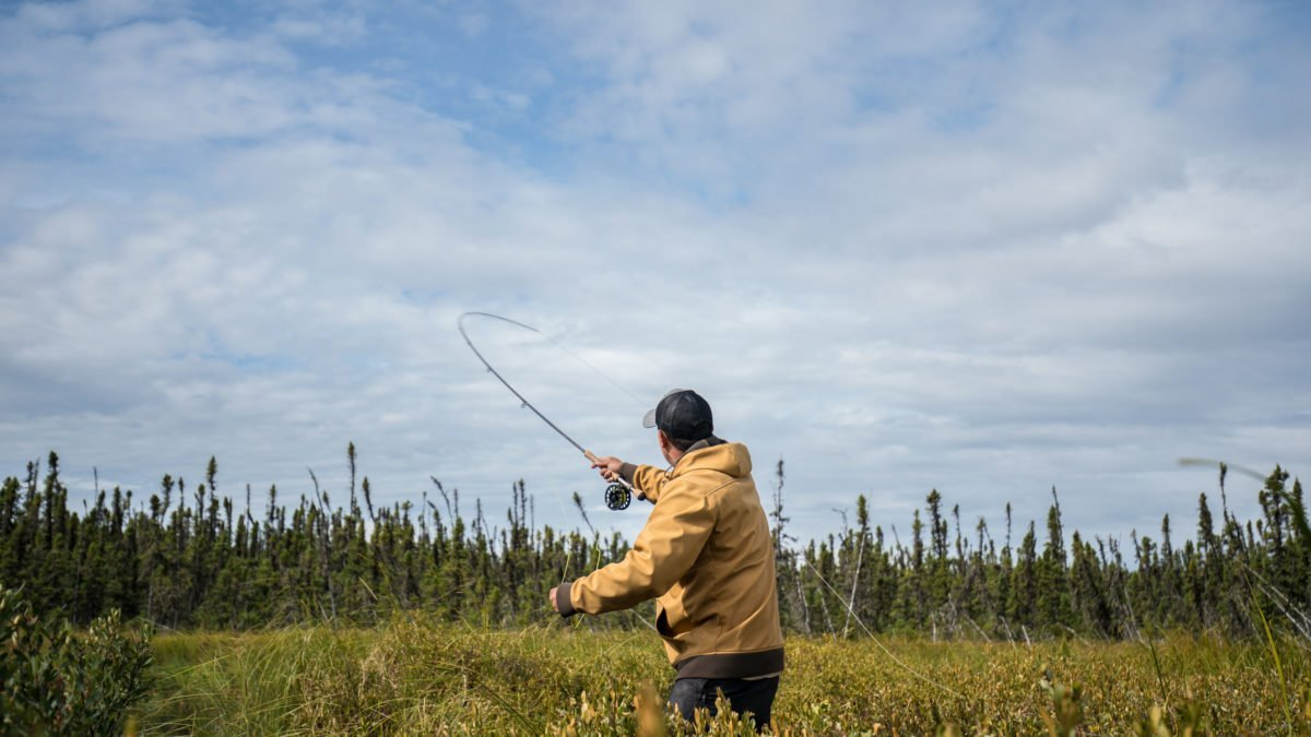 fly fishing in Saskatchewan